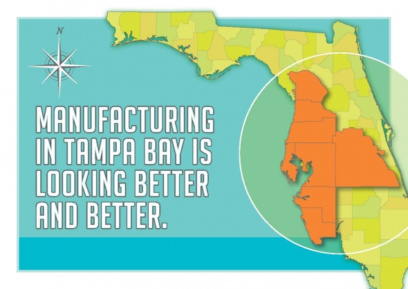 Manufacturing is getting better and better in Tampa Bay