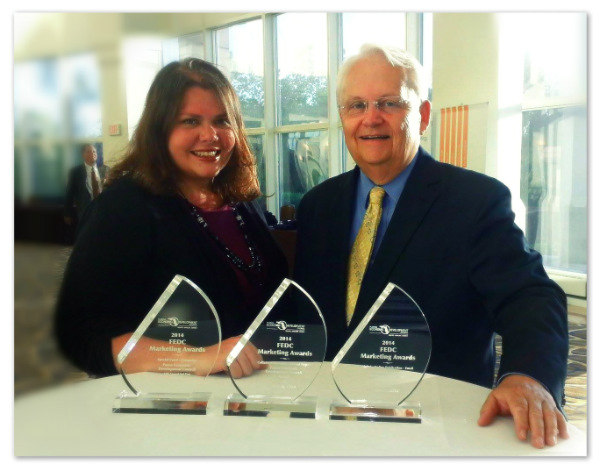 Pasco EDC sweeps 2014 FEDC marketing awards!